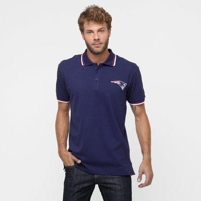 Camisa Polo New Era NFL String New England Patriots - Masculino
