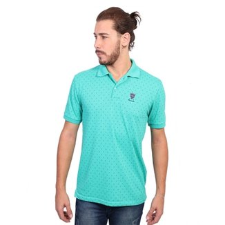 Camisa Polo New York Polo Club Full Print