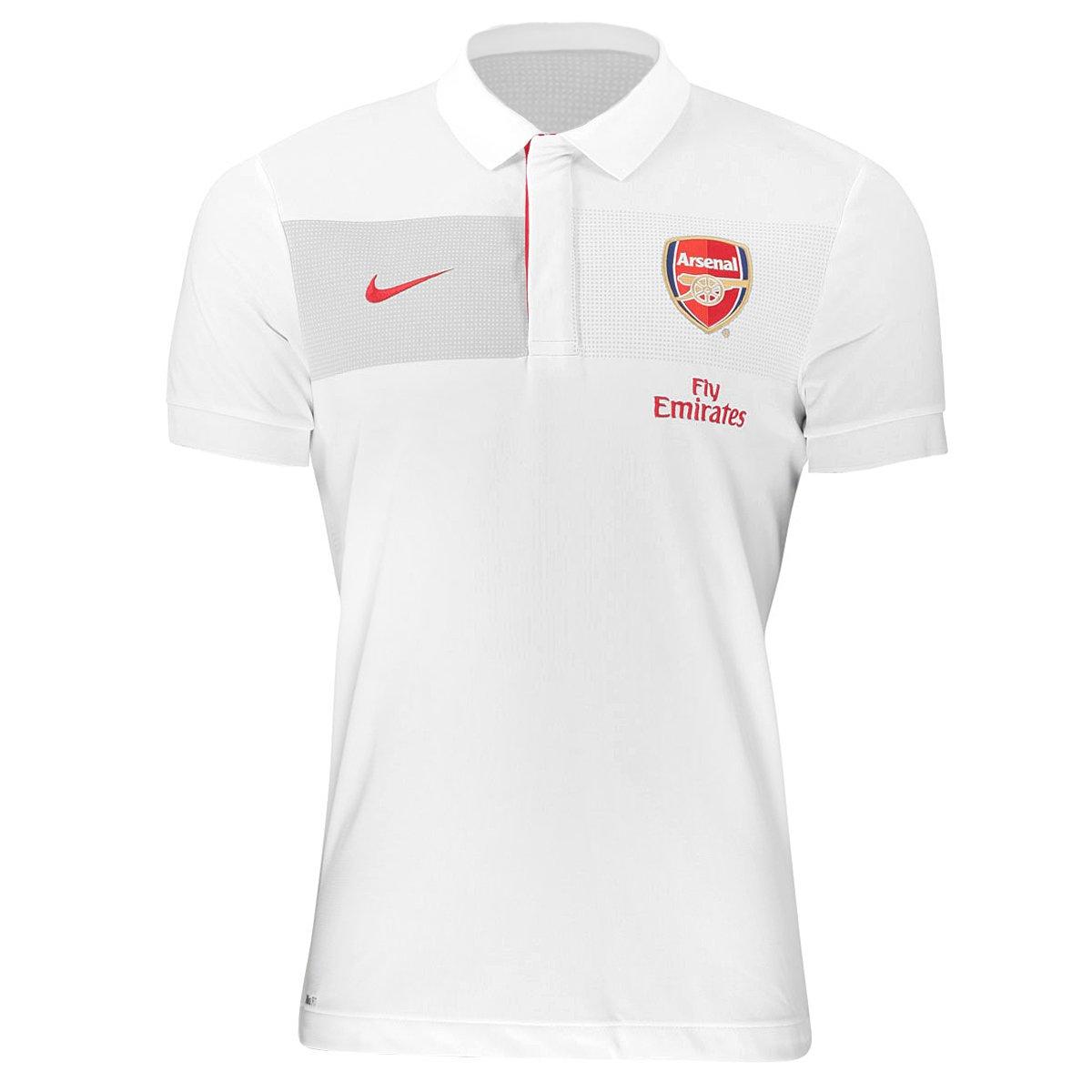 Camisa Polo Nike Arsenal Viagem - Compre Agora  6dde3534b7c1f