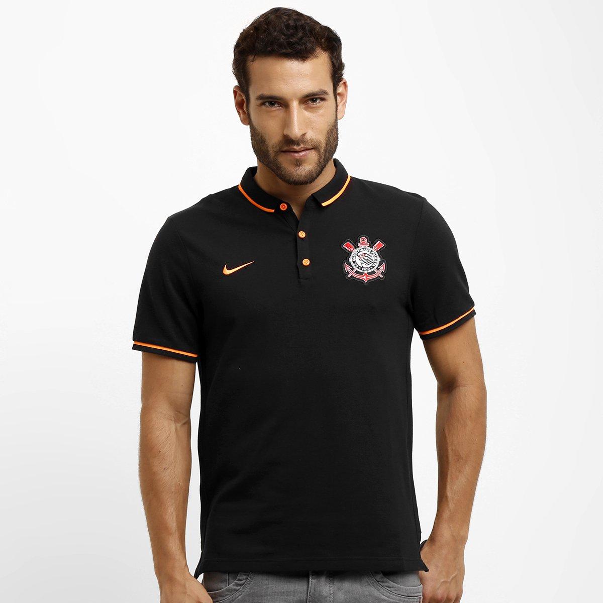 Camisa Polo Nike Corinthians League Auth - Compre Agora  497b4a4df7c89