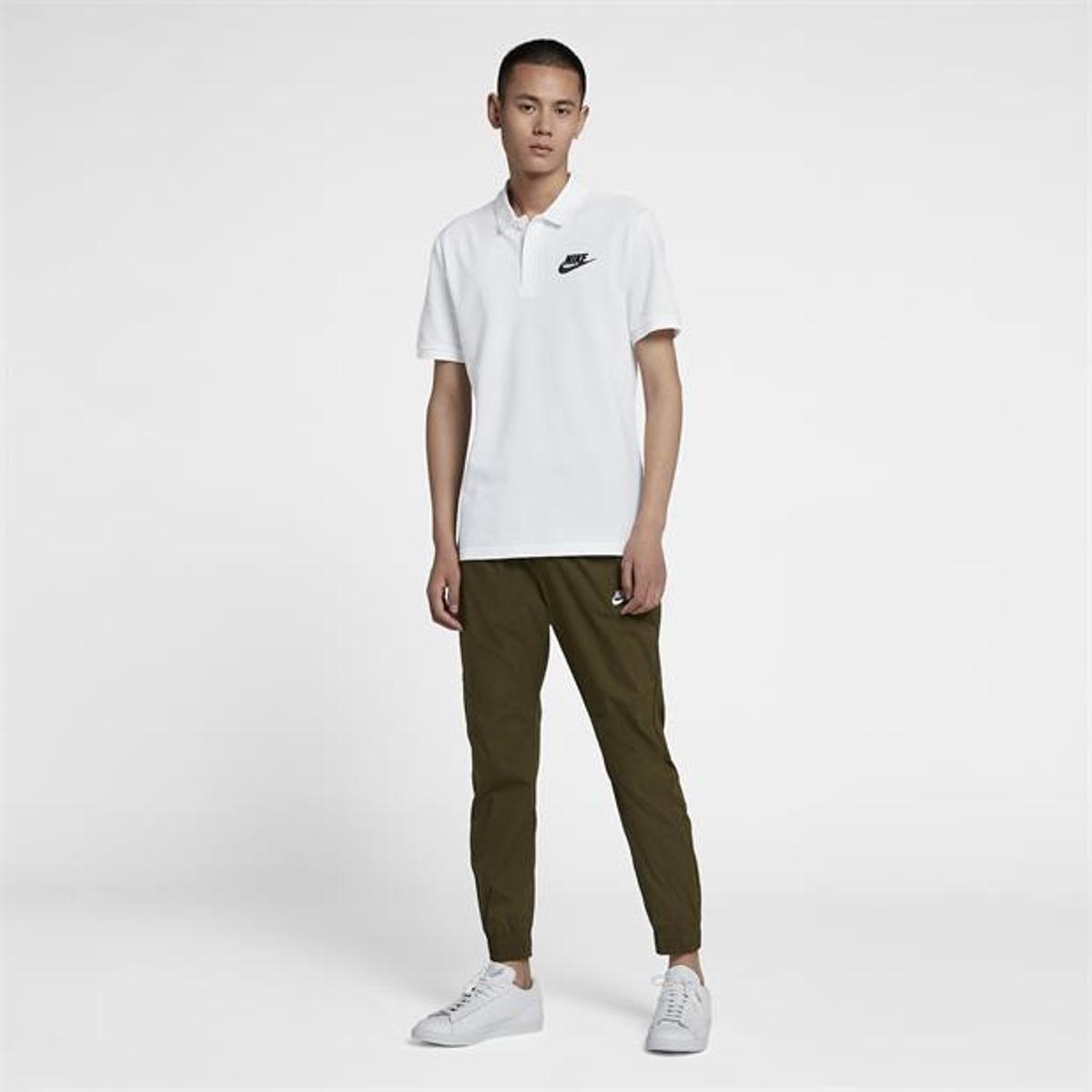 Camisa Polo Nike Matchup Piquet Masculina - Preto e Branco - Compre ... e3fe62d738b8d
