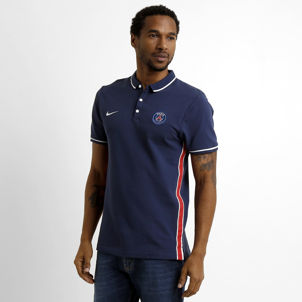e0a3e7b9b9 Camisa Polo Nike Paris Saint Germain League - Compre Agora