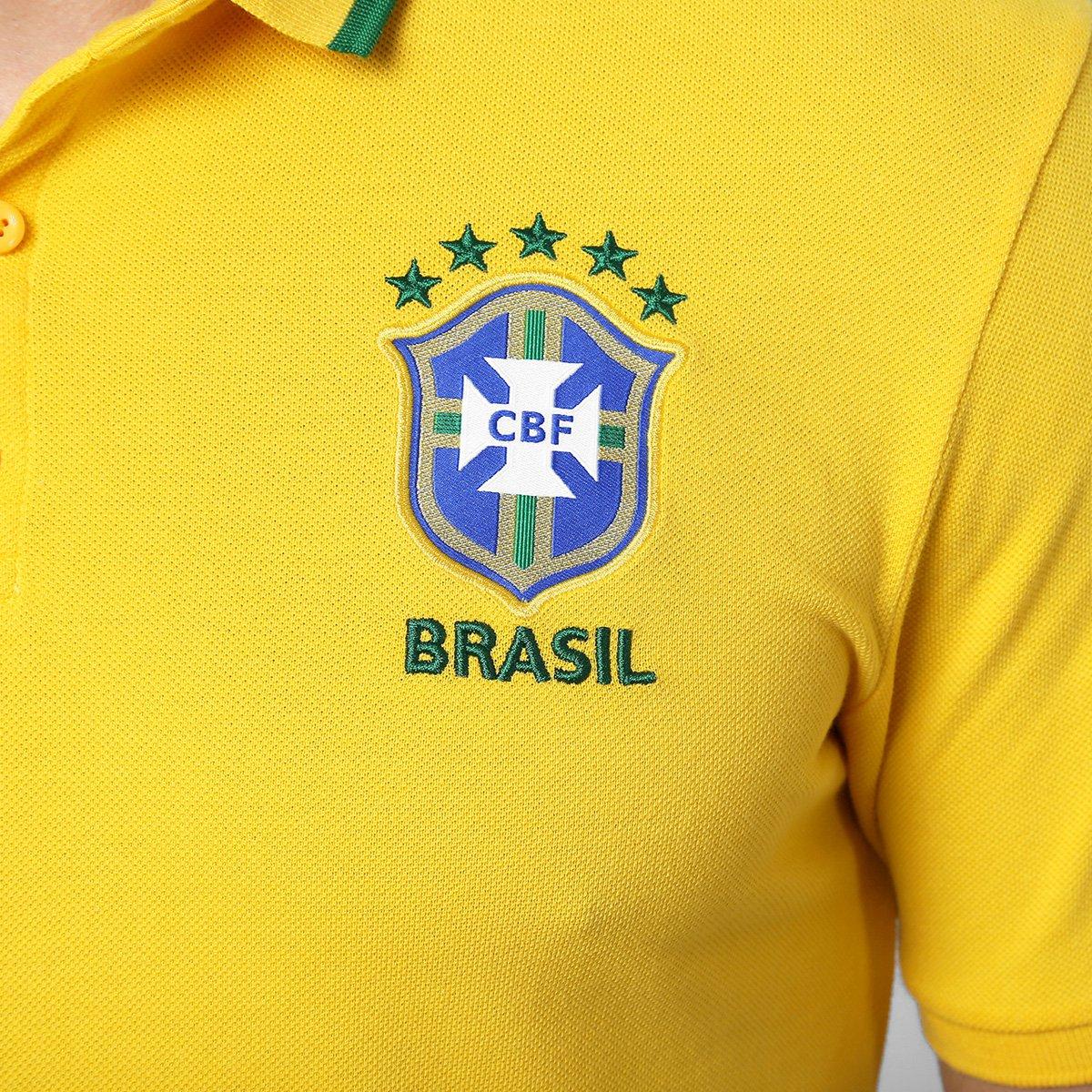Camisa Polo Nike Seleção Brasil League Authentic 2 - Compre Agora ... c34ee42d2c5cb