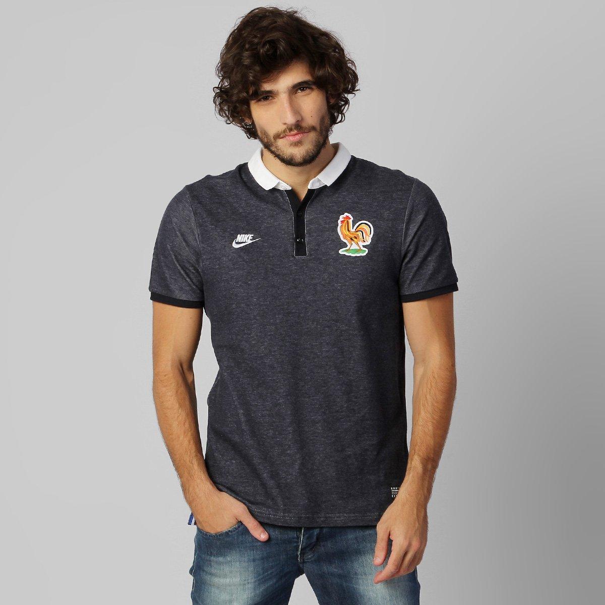 5b4937b2e6 Camisa Polo Nike Seleção França League 2014 - Compre Agora