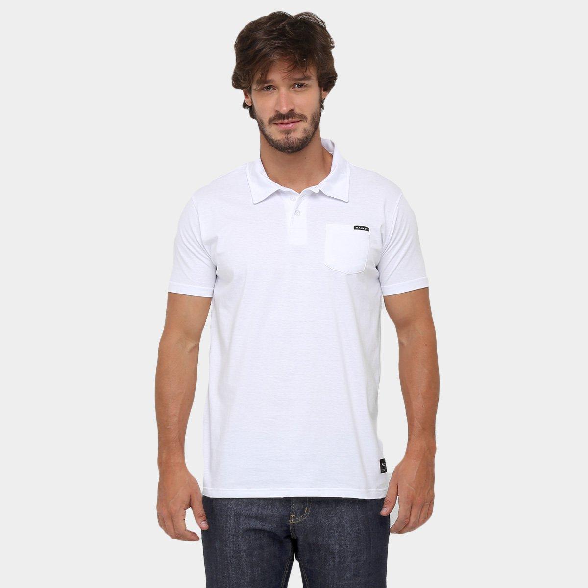 b5e38018f Camisa Polo Oakley Essential Pocket - Compre Agora