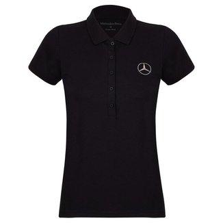 Camisa Polo Oficial MercedesBenz Feminina