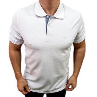Camisa Polo Ogochi Básica Slim Branco 007000001