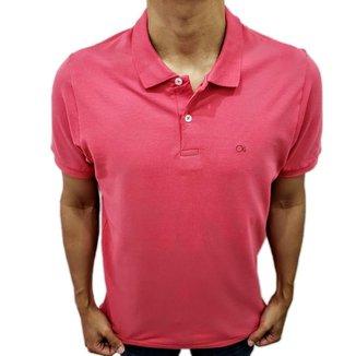 Camisa Polo Ogochi Básica Slim Rosa 0074470010203