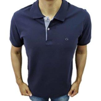 Camisa Polo Ogochi Básica Tradicional Marinho 007000013
