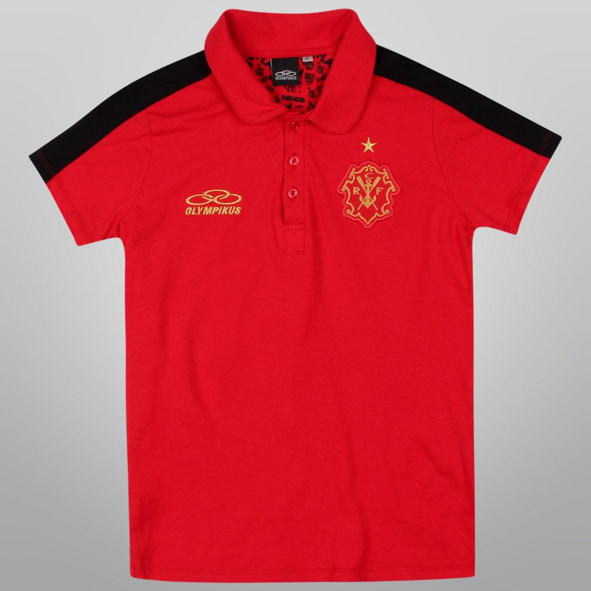Camisa Polo Olympikus Flamengo Remo Retrô - Compre Agora  29aa340fa3aff