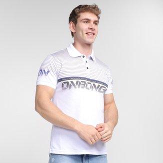 Camisa Polo Onbongo Piquet Lines Masculina