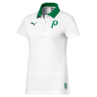 Camisa Polo Palmeiras 19 20 Puma Feminina - Feminino 9d21aba89ee46