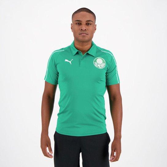 Camisa Polo Palmeiras 19/20 Puma Masculina - Verde