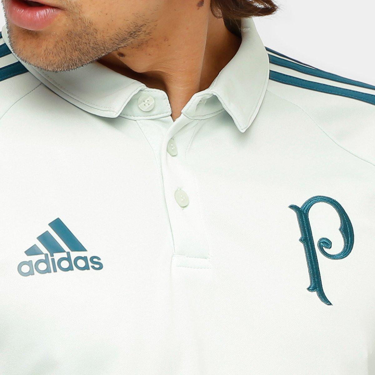 Camisa Polo Palmeiras Adidas Viagem 17 18 Masculina - Compre Agora ... 636e47c11bcf7