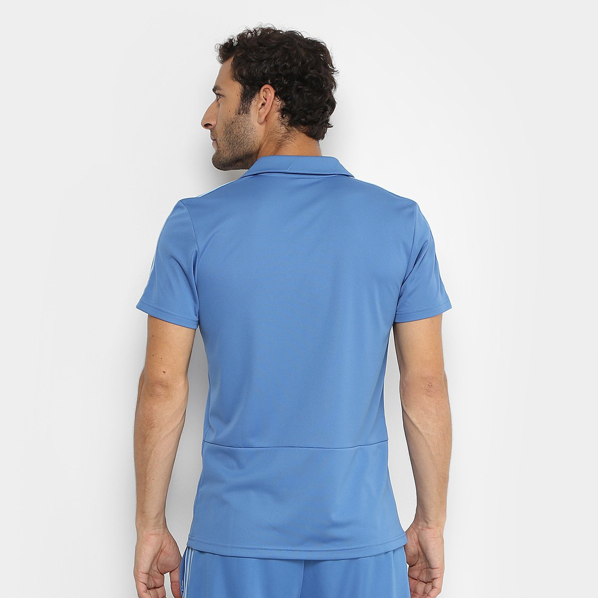 Camisa Polo Palmeiras Adidas Viagem Masculina - Azul - Compre Agora ... 77735b7000c12