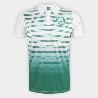 Camisa Polo Palmeiras Double Stripes Masculina