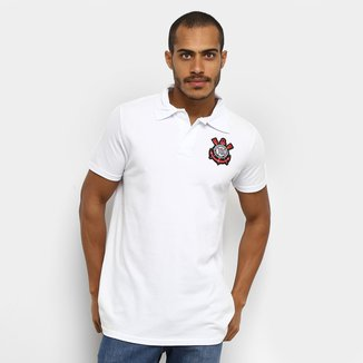 Camisa Polo Piquet Corinthians Masculina