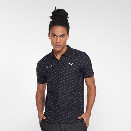 Camisa Polo Puma MAPF1 AOP Masculina