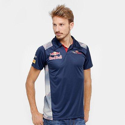 ecb1ba7df1 Camisa Polo Red Bull Funcional Toro Rosso Otl Masculina
