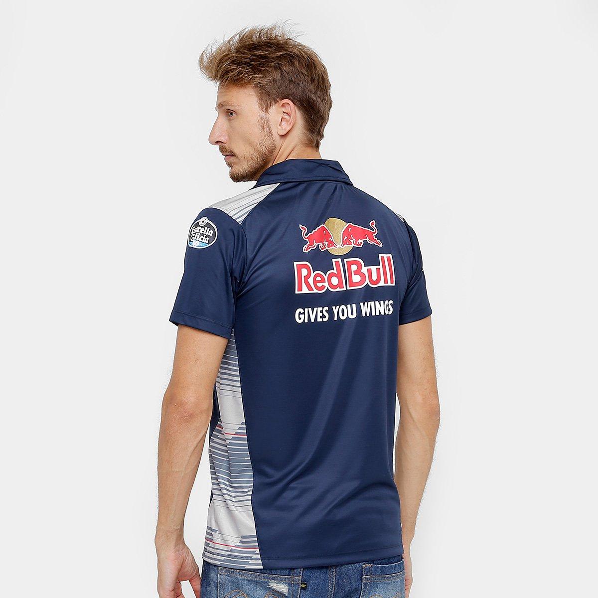 Camisa Polo Red Bull Funcional Toro Rosso OTL Masculina - Compre ... a71b3e18edc