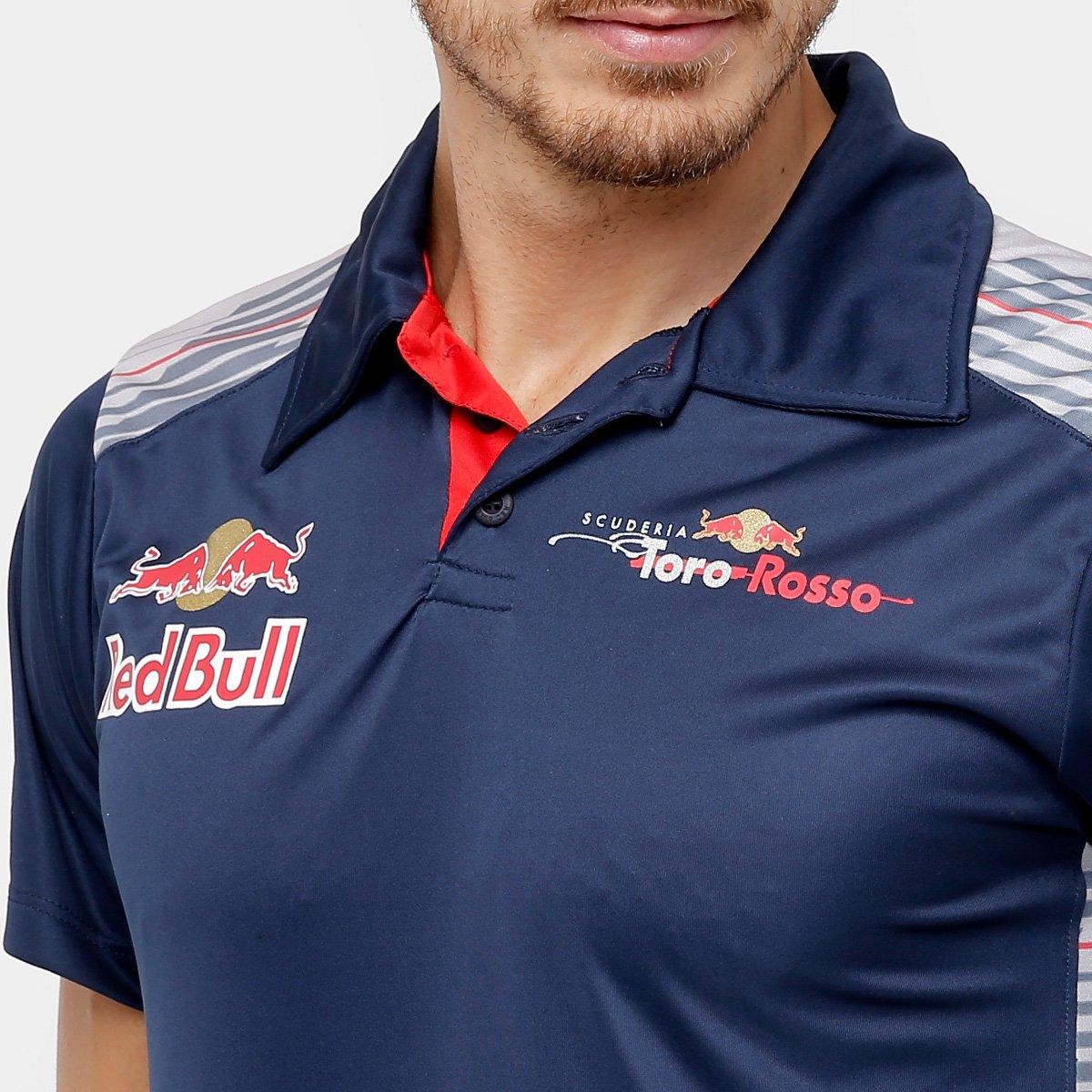 65f089ba80 Camisa Polo Red Bull Funcional Toro Rosso OTL Masculina - Compre ...