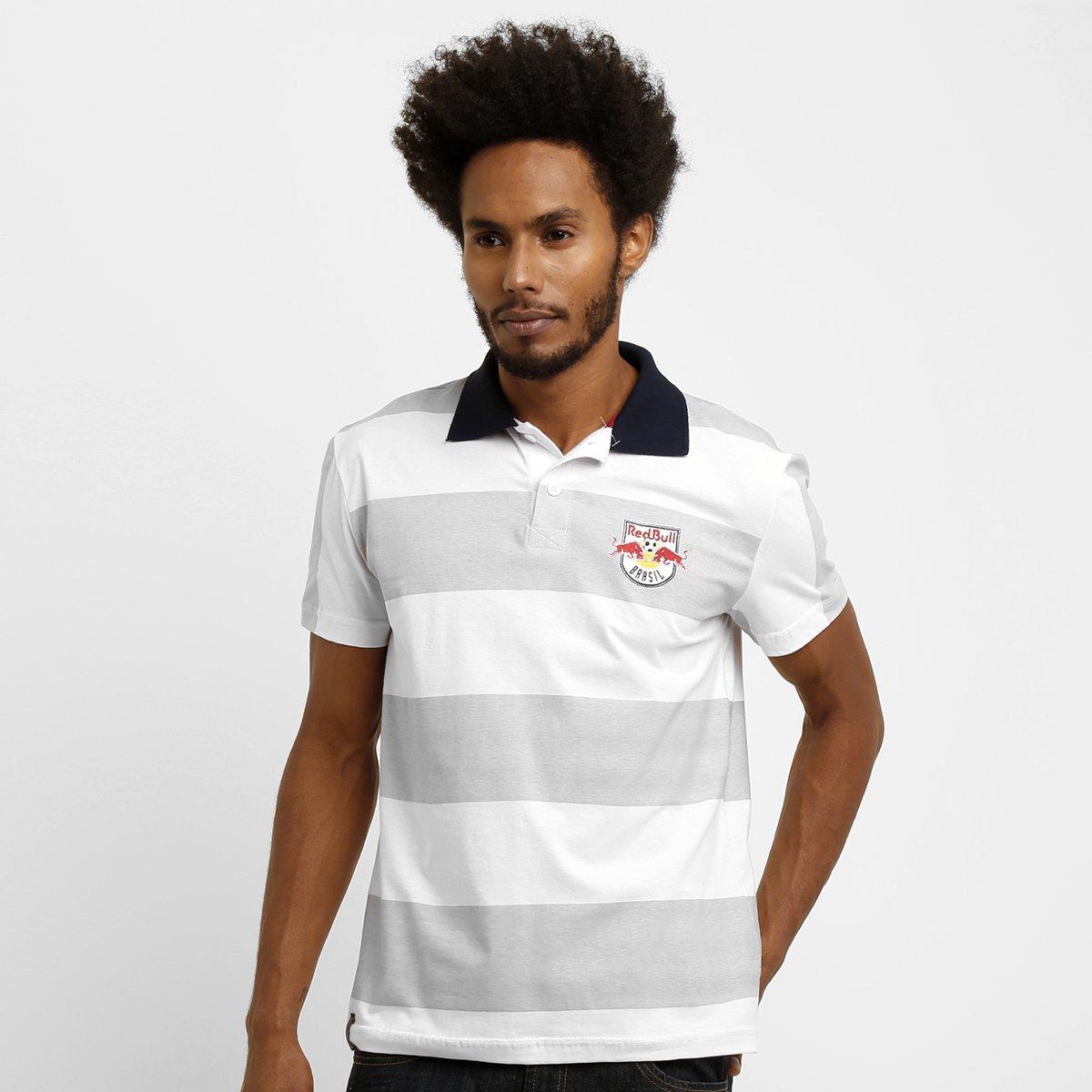 1c8fd0e8b9147 Camisa Polo Red Bull Listras - Compre Agora