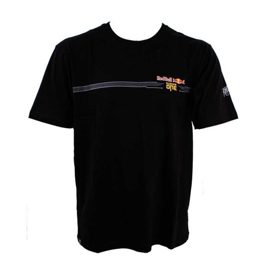 Camisa Polo  Red Bull Player One  Masculina - Preto