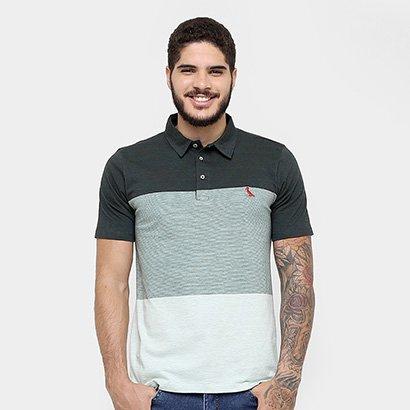 360301bb7c Camisa Polo Reserva Malha Listras Bordado - Compre Agora