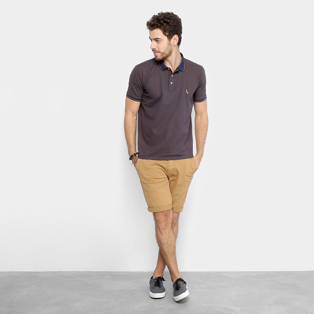 Camisa Polo Reserva Poá Frisos Masculina - Compre Agora  8161196233043
