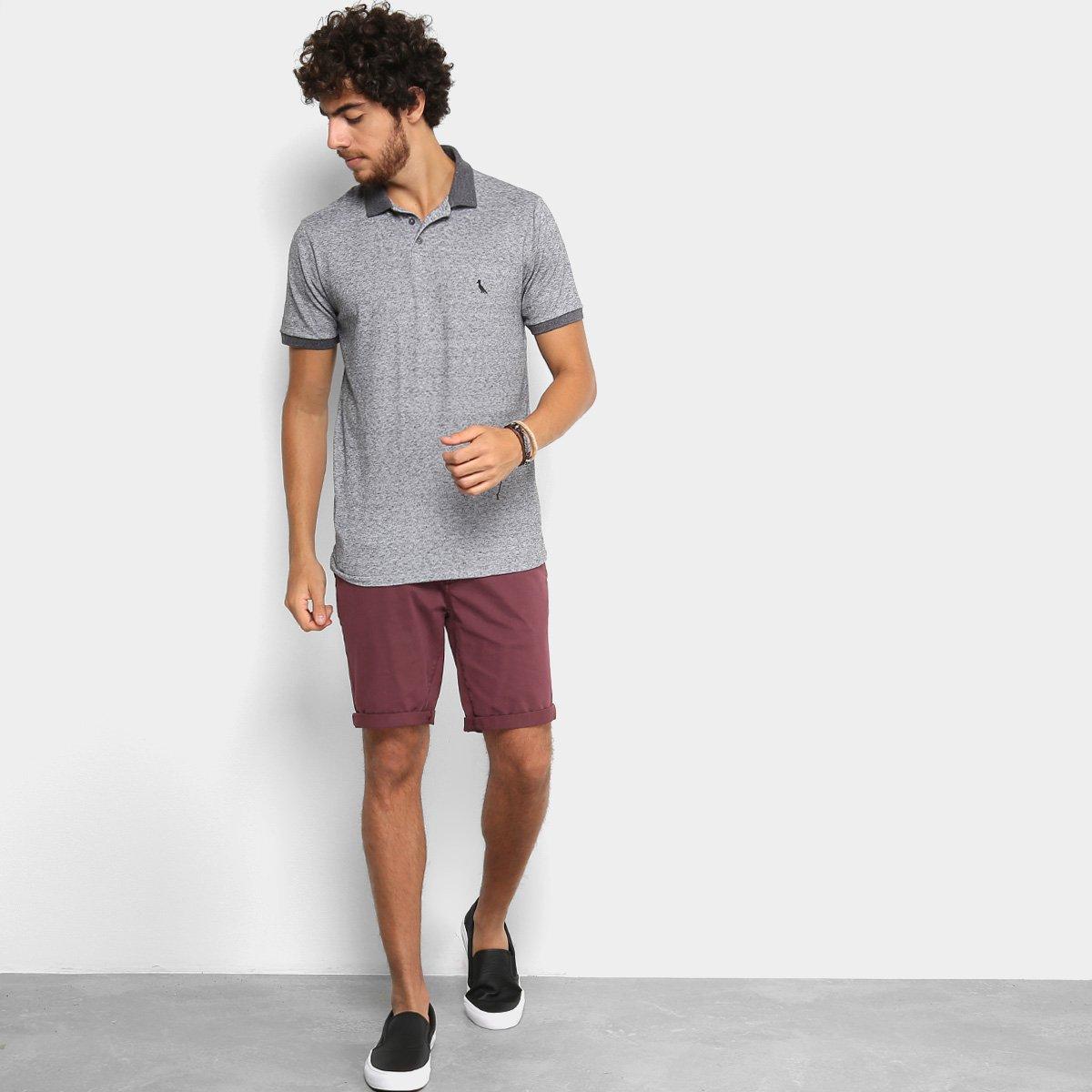 Camisa Polo Reserva Sustentavel Masculina - Preto - Compre Agora ... 9fd1be290d247