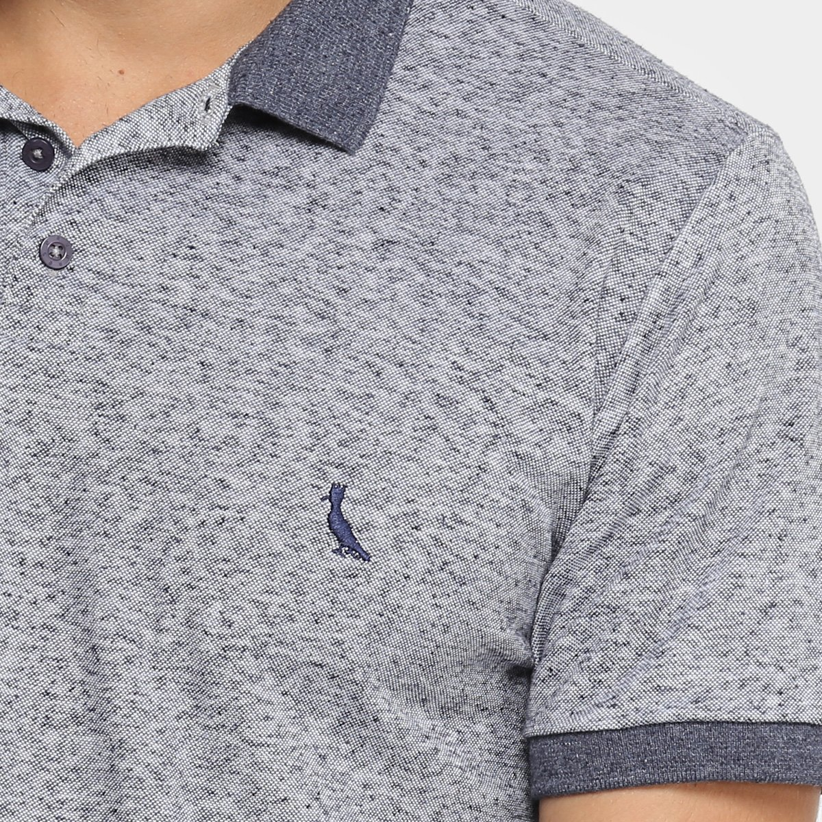 Camisa Polo Reserva Sustentavel Masculina - Marinho - Compre Agora ... b44f415ea0e37
