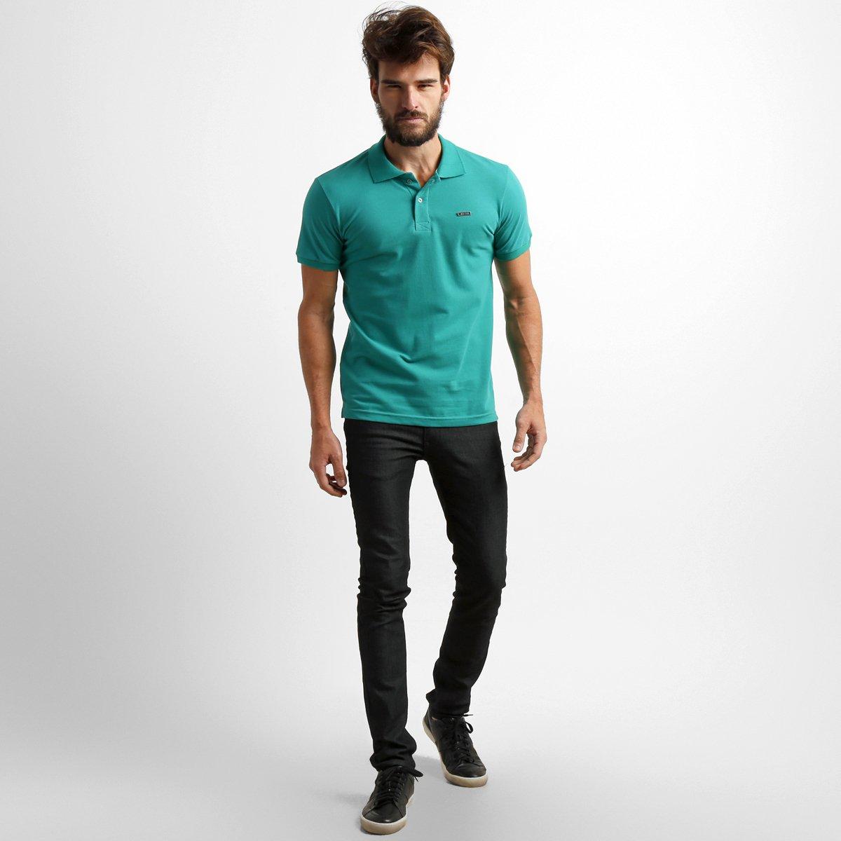 Camisa Polo RG 518 Piquet Básica - Compre Agora  936768b62dc3b