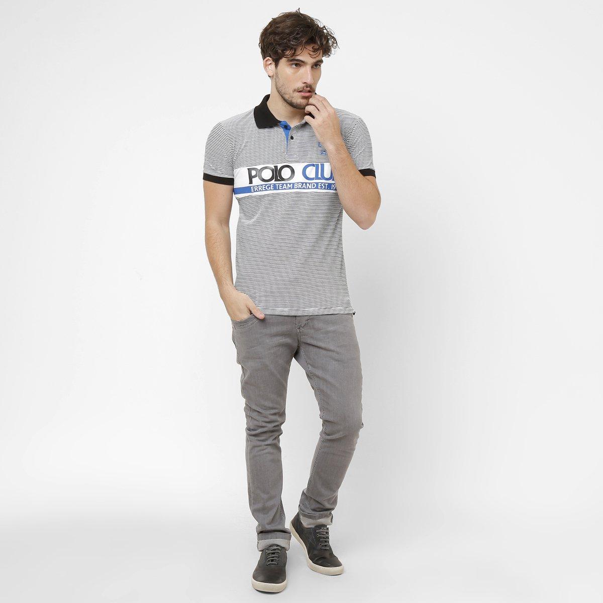 Camisa Polo RG 518 Piquet Listras - Compre Agora  249f3a9990f08