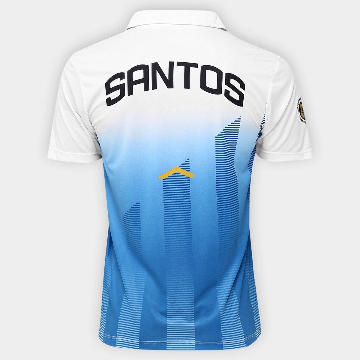 Camisa Polo Santos Elenco 17 18 Kappa Masculina - Compre Agora ... ba50ec22cf814