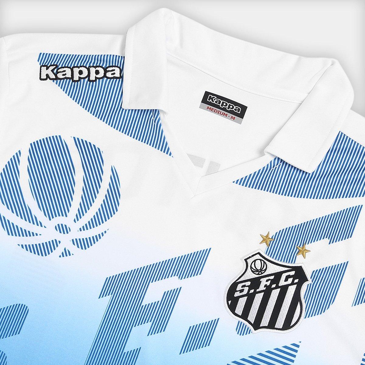 Camisa Polo Santos Elenco 17 18 Kappa Masculina - Compre Agora ... a4e041fba5ab4