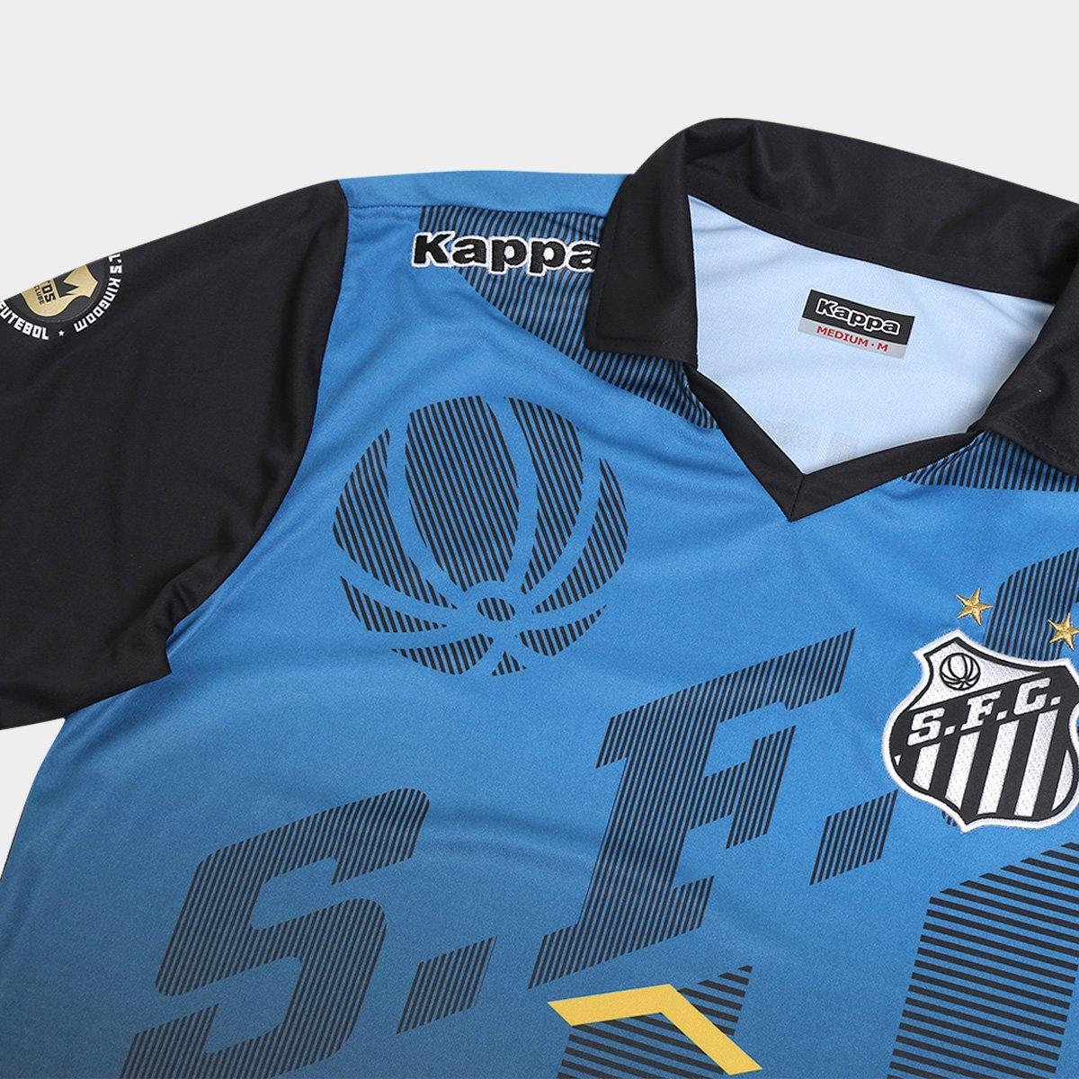 Camisa Polo Santos Viagem Elenco Kappa - Compre Agora  2df977db11242
