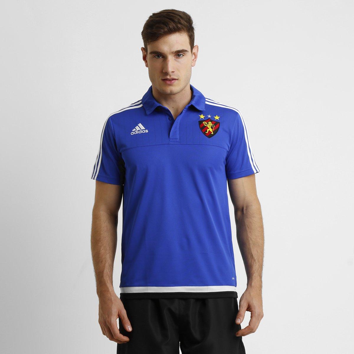 Camisa Polo Sport Recife Adidas Viagem Masculina - Compre Agora ... 812acec9d0534