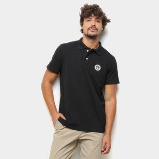 Camisa Polo Suburban Piquet Logo Masculina