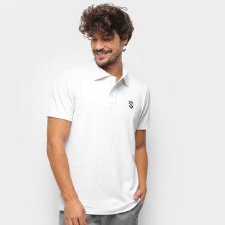Camisa Polo Suburban Piquet Mini Logo Masculina