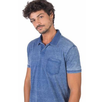 Camisa Polo Taco Estonada Com Bolso Masculina - Masculino