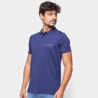 Camisa Polo Tommy Hilfiger Básica Masculina