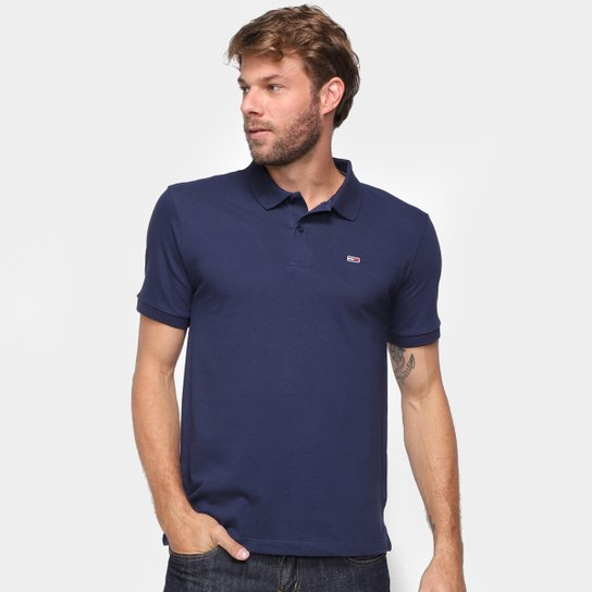 Camisa Polo Tommy Jeans Lisa Masculina - Marinho
