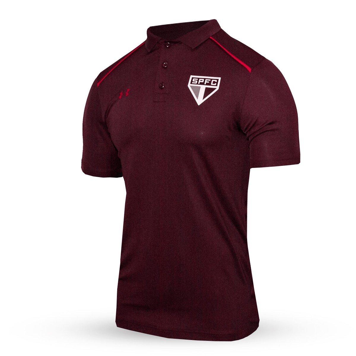 71ec6d6702 ... Camisa Polo Ua Sao Paulo Core 2017 18 - Compre Agora Netshoes  a787ed9ae68f34 ...