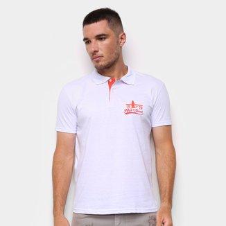 Camisa Polo Ultimato Meia Malha Estampada Masculina