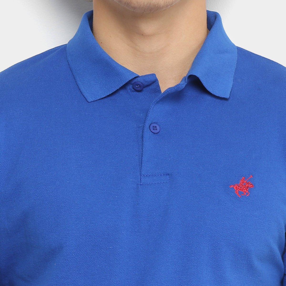 de13b87af9 ... Camisa Polo Up Bordado Masculina. Camisa Polo Up Bordado Masculina - Azul  Royal