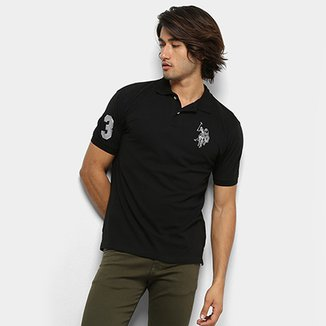 Camisa Polo U.S. Polo Assn Lisa Big Poney Masculina