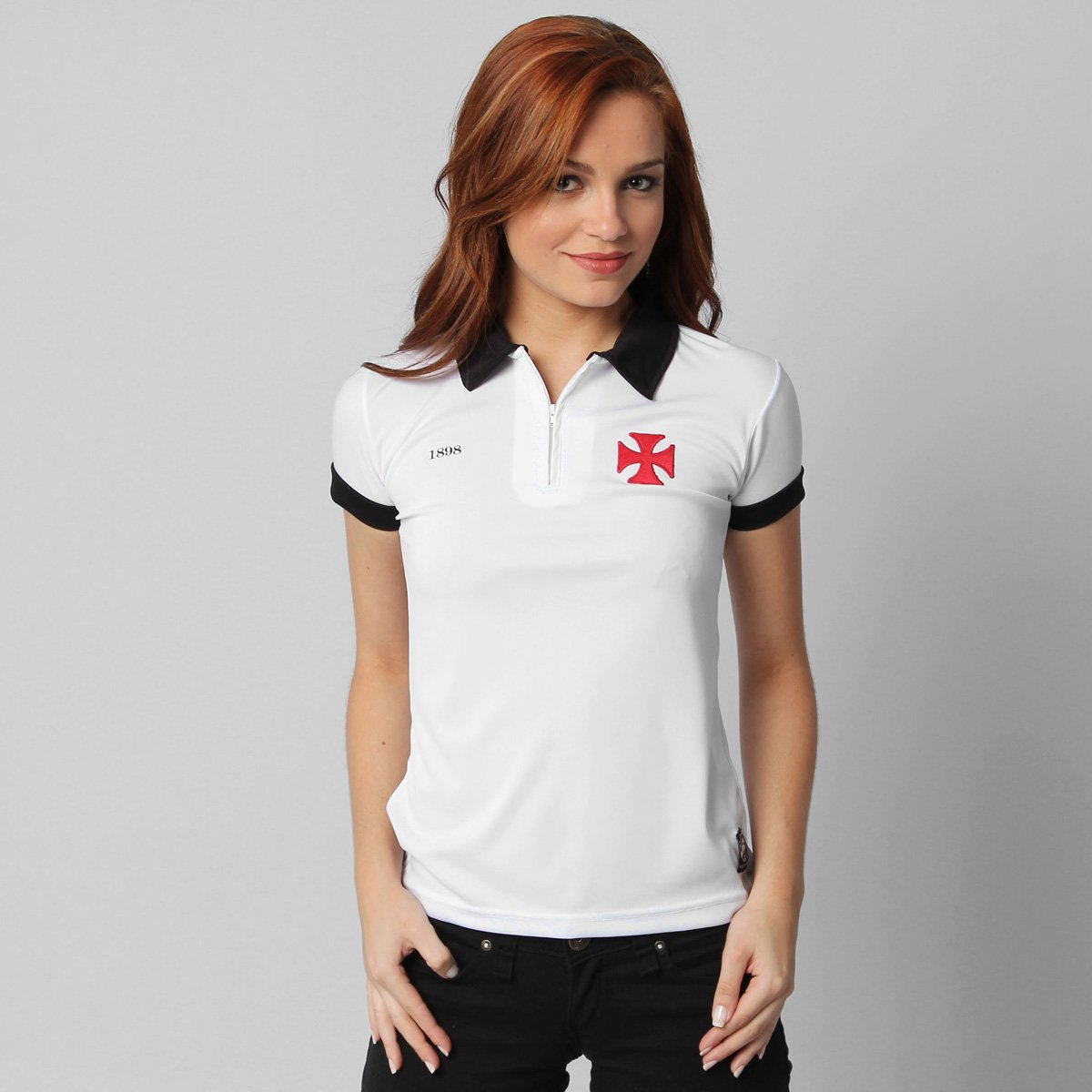 7ab02e176c Camisa Polo Vasco da Gama Clube do Coração - Compre Agora