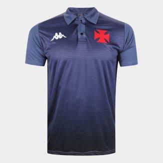 Camisa Polo Vasco da Gama Supporter 1898 Kappa Masculina