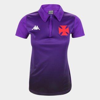 Camisa Polo Vasco da Gama Supporter Kappa Feminina