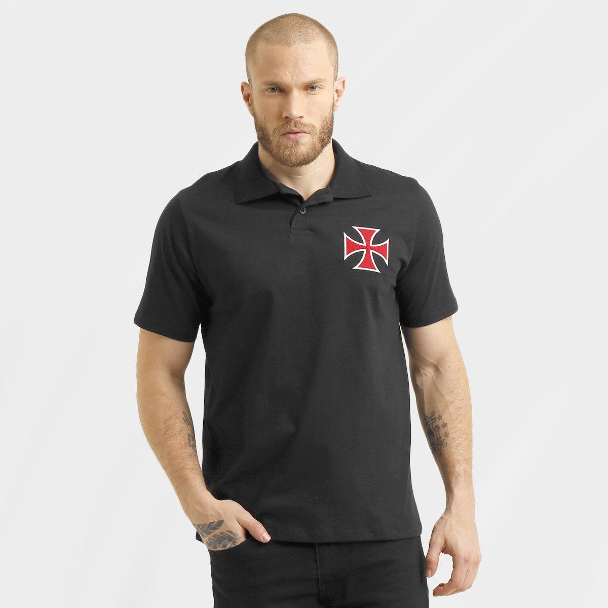 Camisa Polo Vasco Shape Básica Masculina - Compre Agora  b6de5342f6a9b